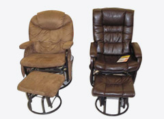 glider rocking chair big lots boon flair pedestal high gray green recalls gliding recliners and ottomans for entrapment dangers cookie preference center