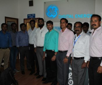 After a Training programme at GE Digital Energy, Bengaluru