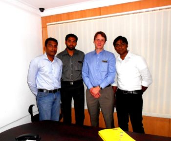 During the visit of Banner Engineering Sales & Technical Manager for Ports to our office