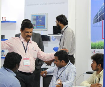 Banner Engineering India team visiting our Stand at Chennai Water Expo 2015