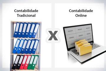 Contabilidade Tradicional x Contabilidade Online