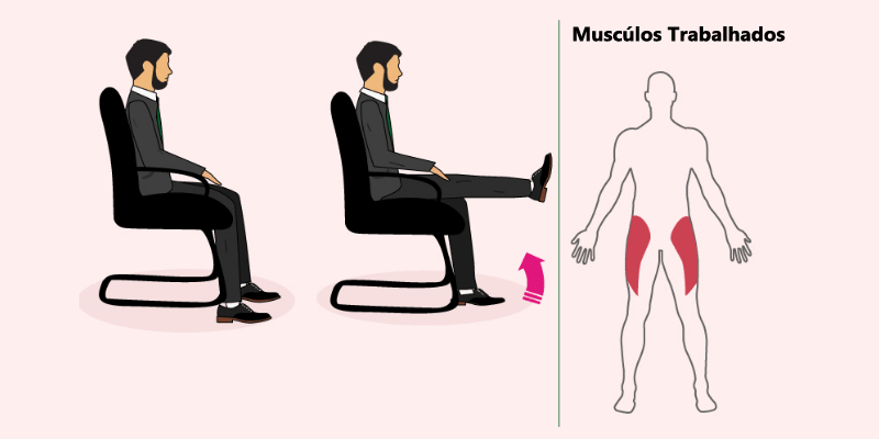 sentado min - Exercícios no escritório: 4 rotinas simples que podem ajudar