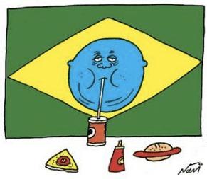 Resultado de imagem para brasil obeso