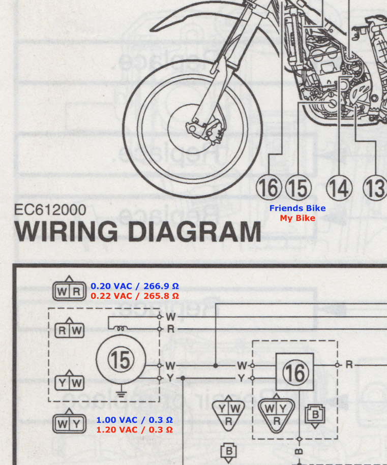 Outstanding Wr450 Headlight Wiring Diagram Auto Electrical Wiring Diagram Wiring Cloud Oideiuggs Outletorg