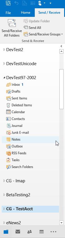 Outlook Navigation Pane : outlook, navigation, Understanding, Outlook, Navigation