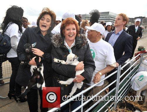 Image result for leon brittan wife Sheep Drive across London Bridge in aid of the Lord Mayor's charities