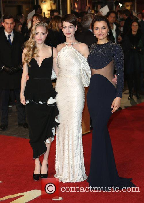 Anne Hathaway Les Miserables World Premiere Held At The