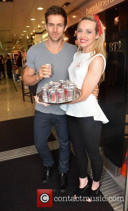 Michaela O'Neill - New Diet Coke hunk Andrew Cooper ...