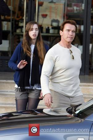 Arnold Schwarzenegger and his daughter shopping at Barney's New York Beverly Hills, California - 23