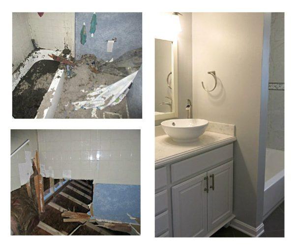 Bathroom Restoration bathroom remodeling and renovations in central michigan Before After Bathroom Renovation