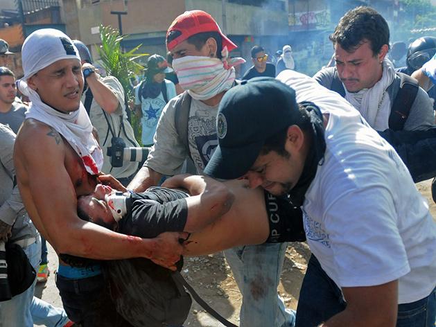 Protestas en Venezuela en febrero de 2014