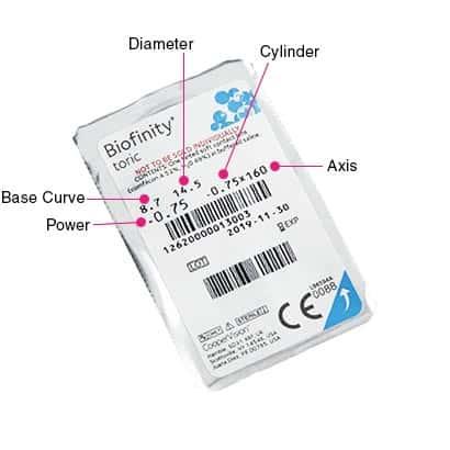 Biofinity Toric Contact Lenses, visit Contactsforless.ca