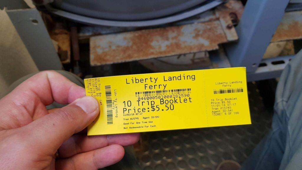 Liberty Landing Ticket