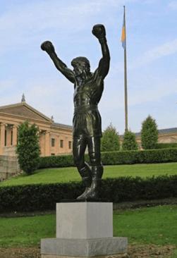 Rocky Estatua