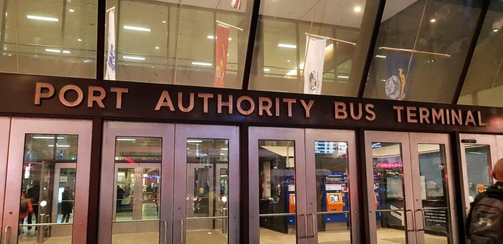 Exterior de Port Authority Bus Terminal