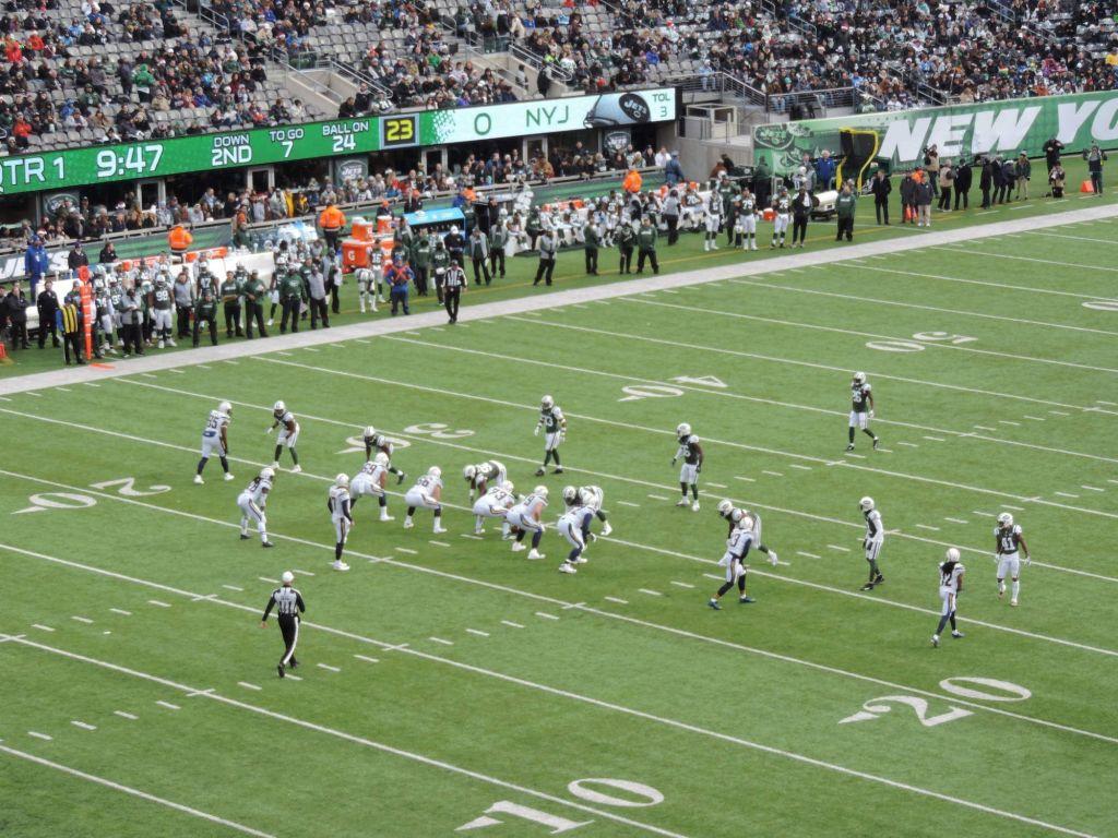 Partido de la NFL en el MetLife Stadium