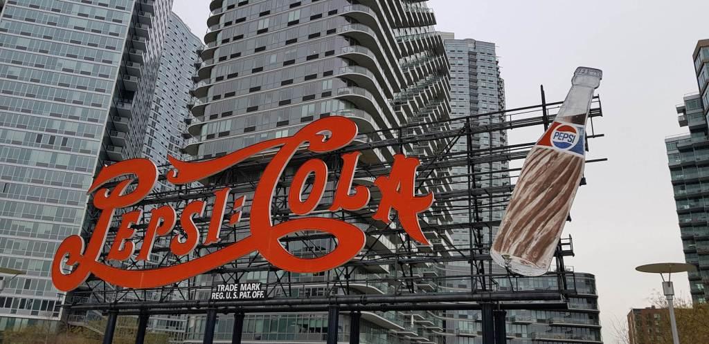 Cartel de Pepsi Cola