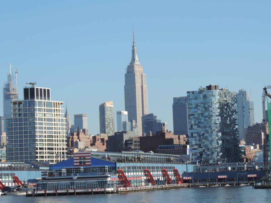 Empire Sate, vista desde el crucero circle line