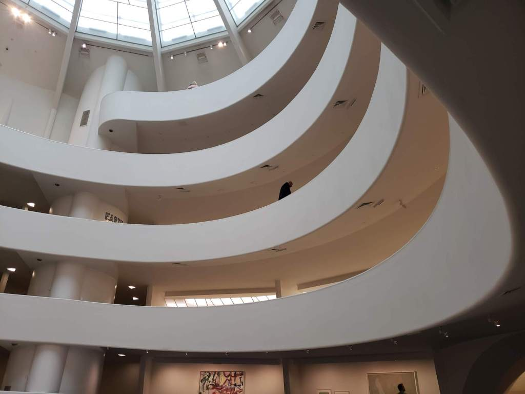interior del Guggenheim Museum