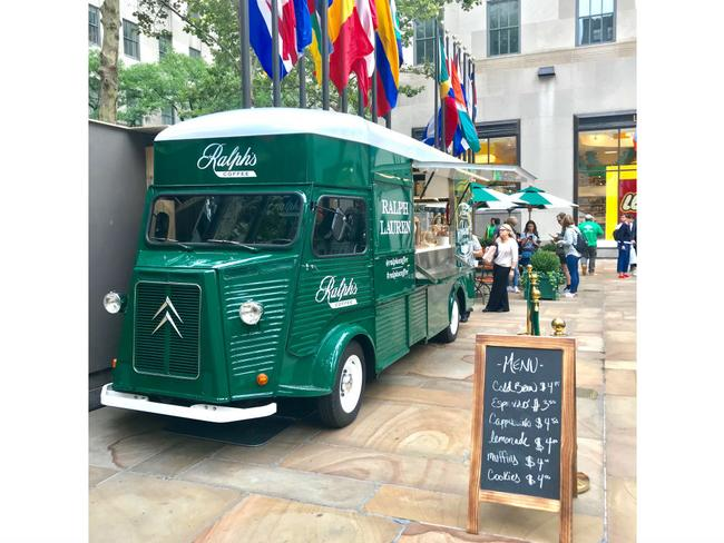 food truck ralphs coffee rockefeller center