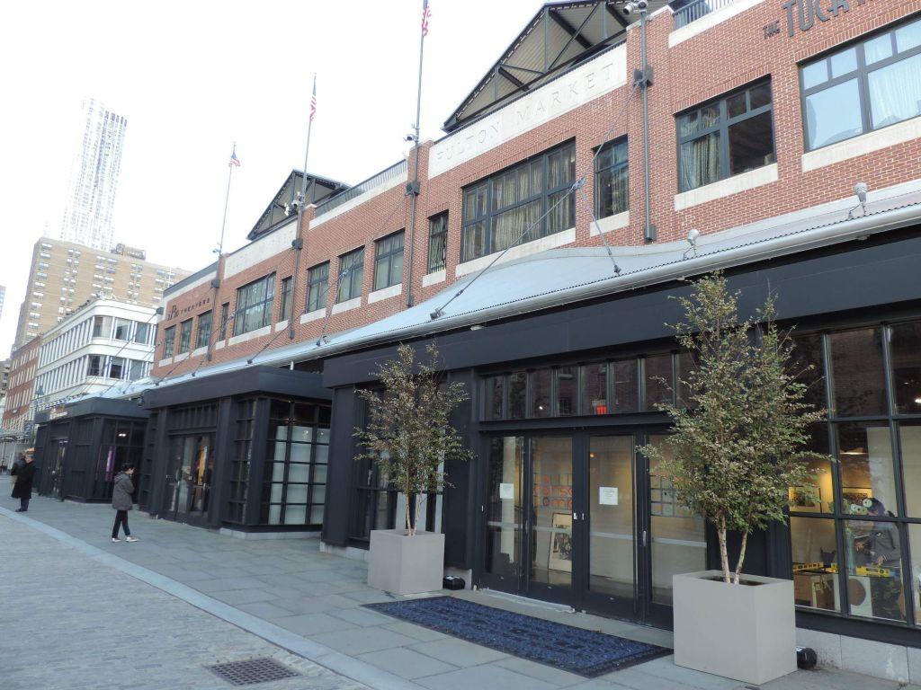 Fulton Market, en South Street Seaport