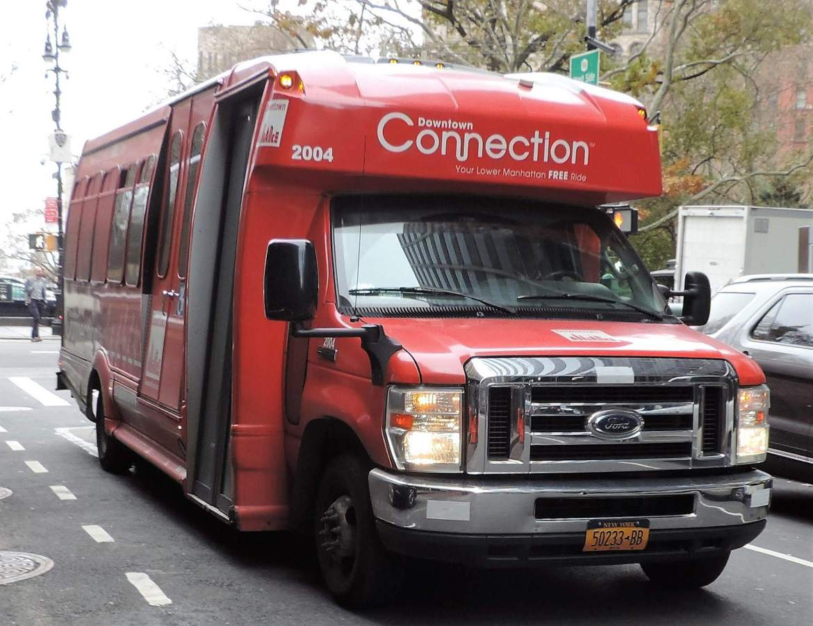 DOWNTOWN CONNECTION BUS