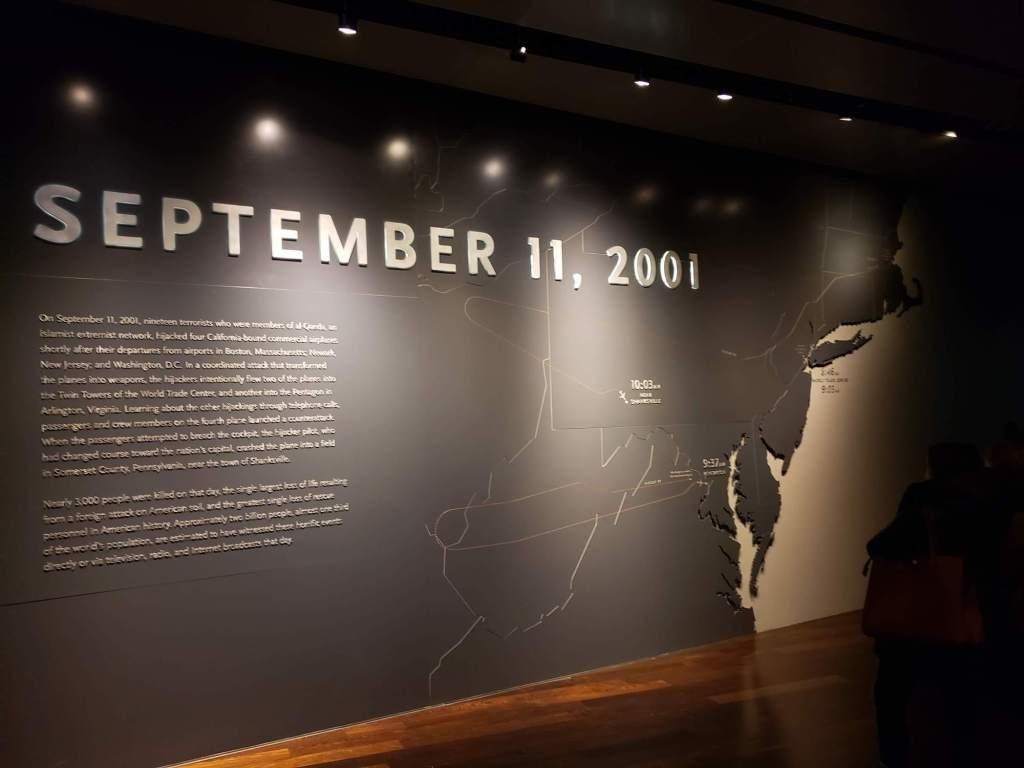 presentacion interaciva, Museo del 11-S 1