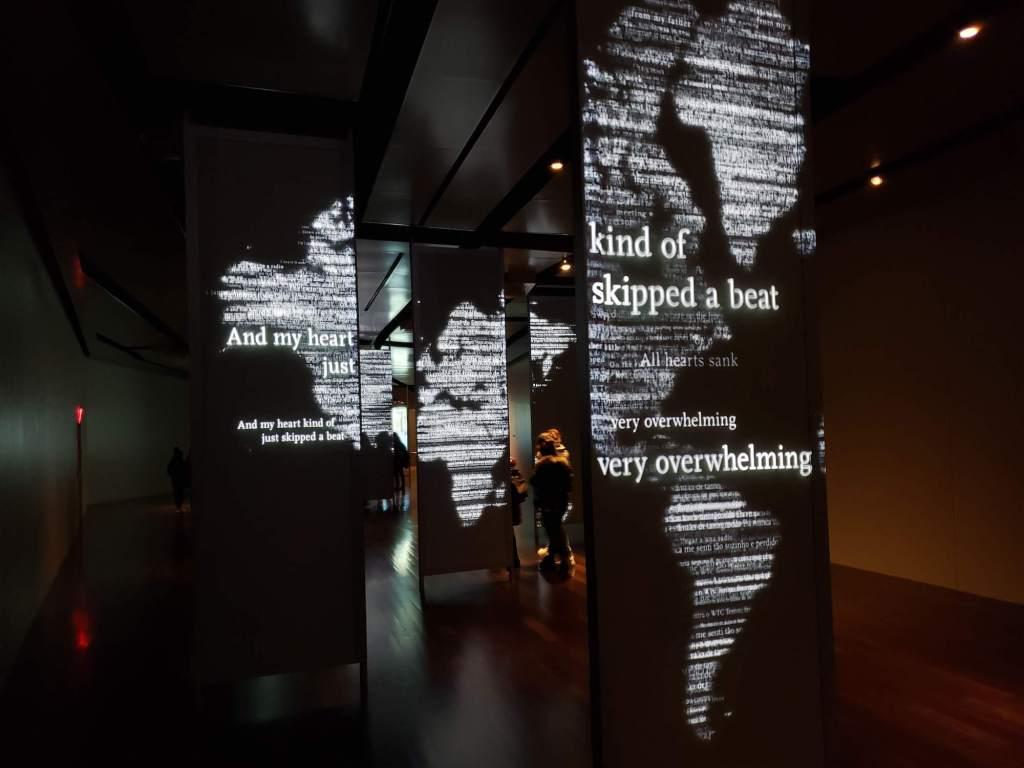presentacion interaciva, Museo del 11-S