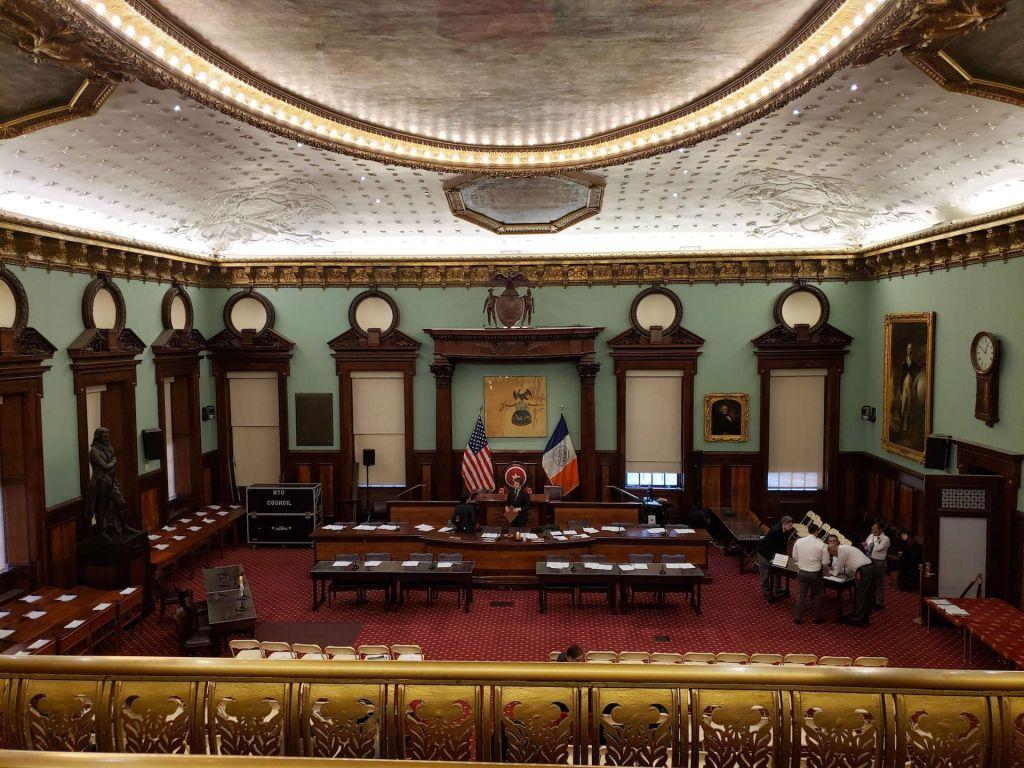 cámara del ayuntamiento de nyc