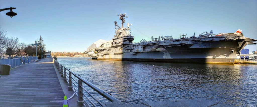 USS Intrepid Exterior