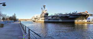 USS Intrepid Exterior