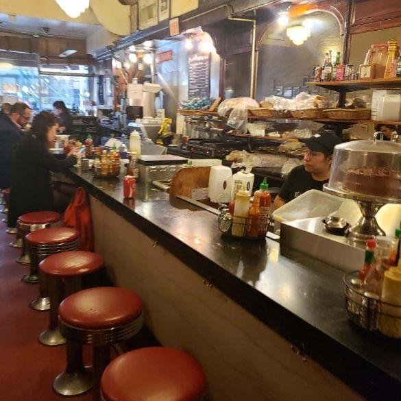 Barra de Eisenberg's Sandwich en NYC