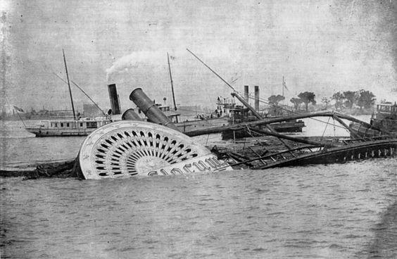 General Slocum imagen de archivo