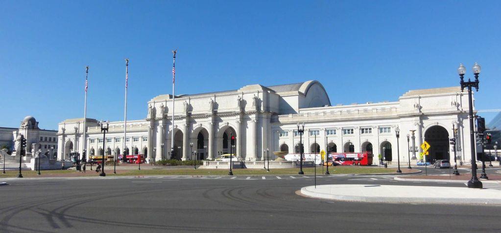 Vista Exterior de Union Station en Washington DC