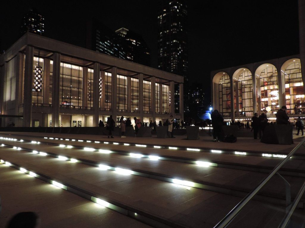 Vista de Josie Plaza en Lincoln Center