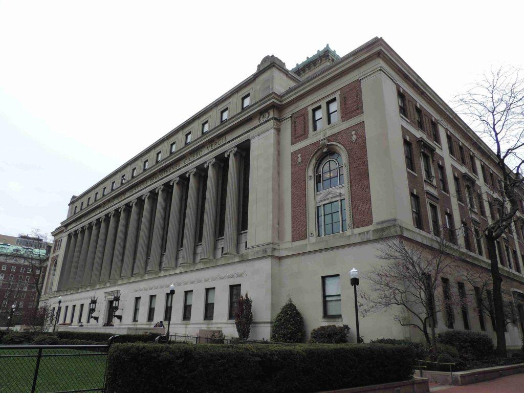 Butler Library en la Universidad de Columbia