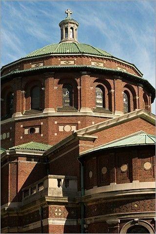 Cúpula de la capilla de San Pablo en la Universidad de Columbia