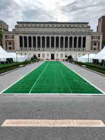 Imagen del Campus de la Universidad de Columbia, Nueva York