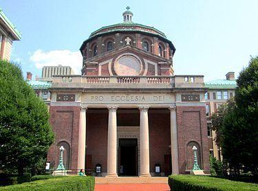 Capilla de San Pablo en Universidad de Columbia