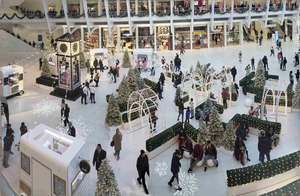 Mercadillo de Navidad en The Oculus