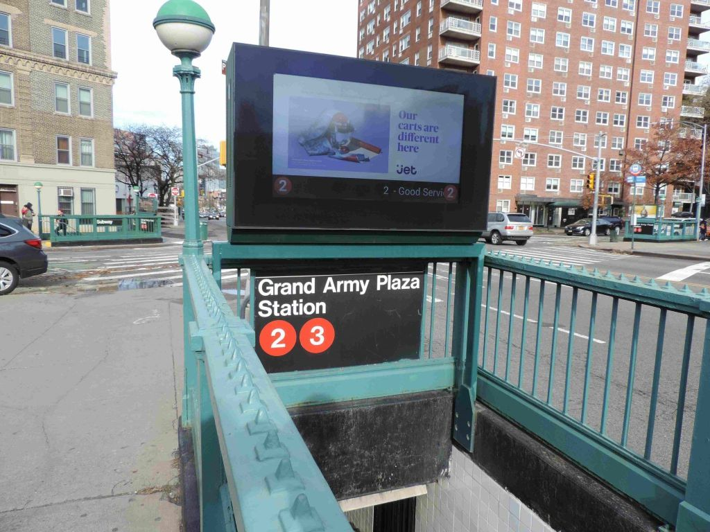 Estación de Metro Grand Army Plaza