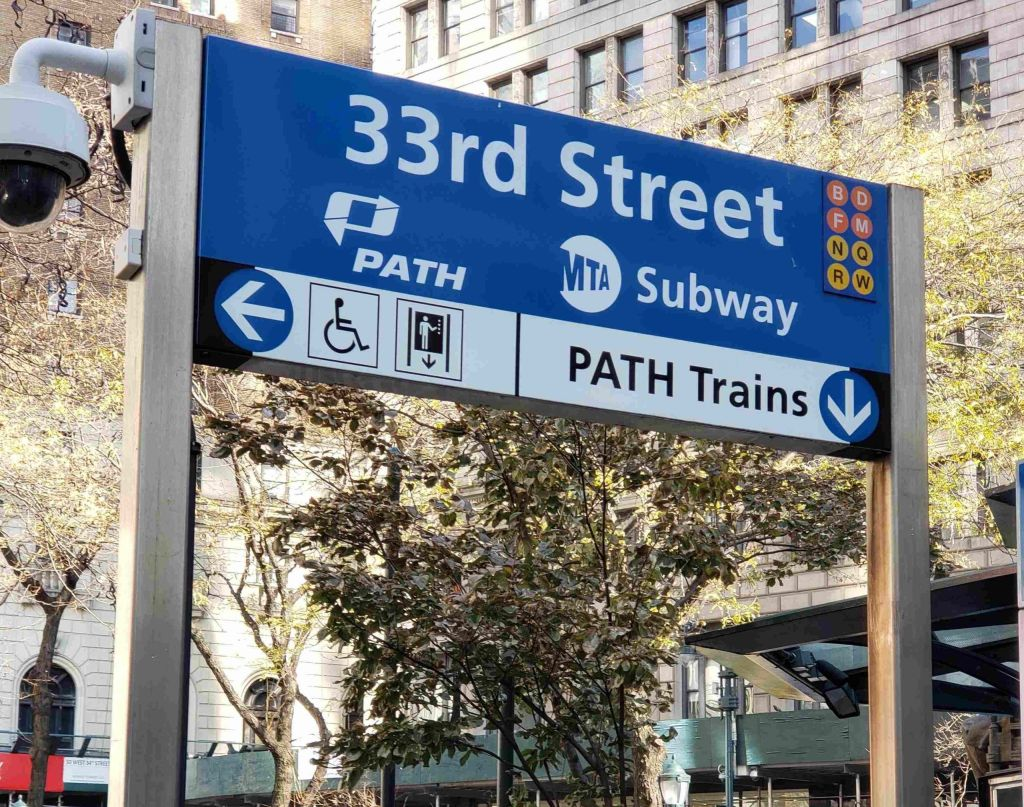 PATH 33th St Station