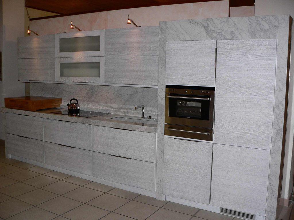 Cucina Linear Marmo Carrara  Contado Roberto Group  Cucine e arredamenti su misura in legno