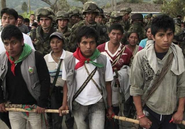 Indígenas del Norte del Cauca nuevamente sufren represión de la Fuerza pública
