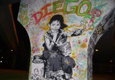 La Memoria de Trípido y los grafiteros fallecidos a través del arte