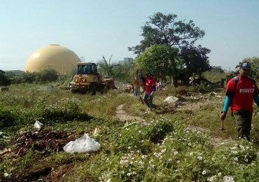 Alcaldía de Barranquilla desaloja 32 familias en el Tamarindo