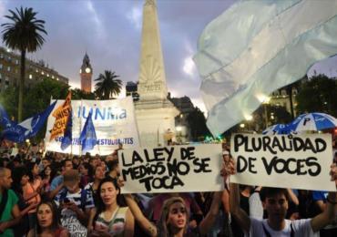 """Mauricio Macri pretende """"amordazar"""" la ley de medios"""