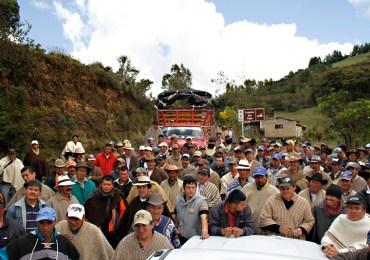 En noviembre se retoman diálogos entre Gobierno y Cumbre Agraria