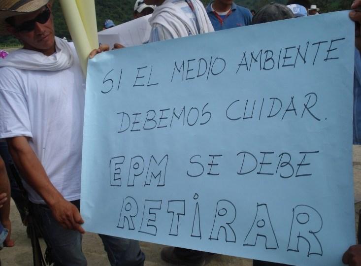 Gobernación de Antioquia atenderá a víctimas de Hidroituango