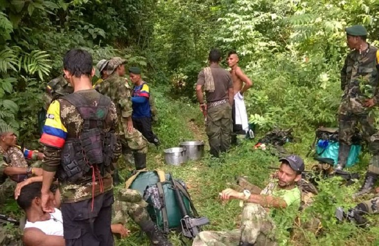 Ejército captura a guerrilleros que se movilizaban hacia zona de concentración